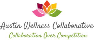Austin Wellness Collaborative Logo. For more visit: austinwellnesscollaborative.org