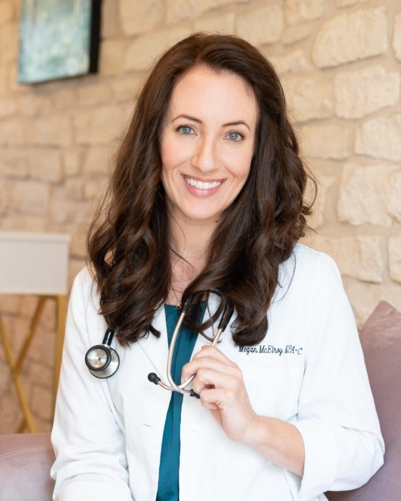 Megan McElroy, PA-C. Functional Medicine Practitioner.